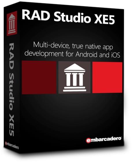 Caixa do RAD Studio XE5