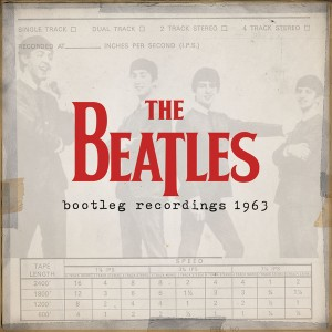 "Capa do álbum ""The Beatles Bootleg Recordings 1963"""