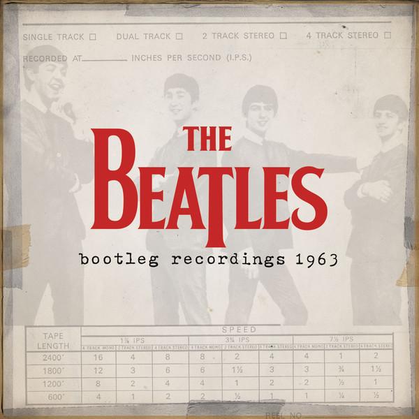"""Capa do álbum """"The Beatles Bootleg Recordings 1963"""""""