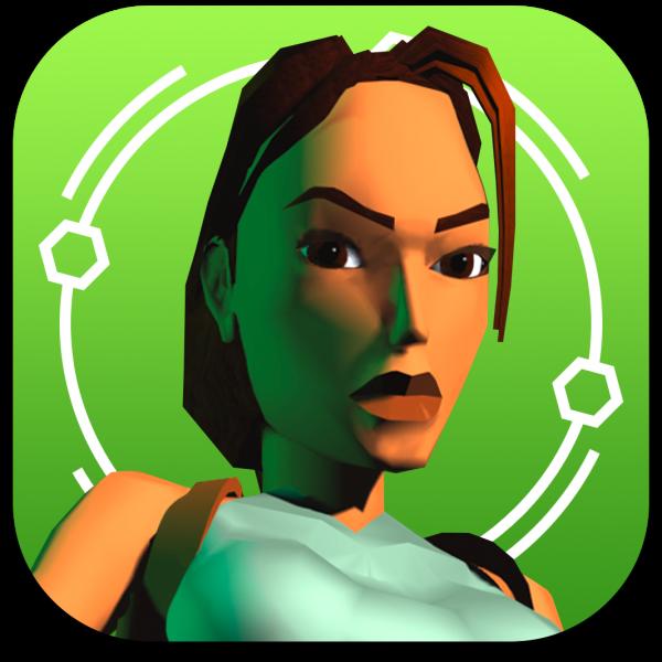 Ícone do jogo Tomb Raider I para iOS