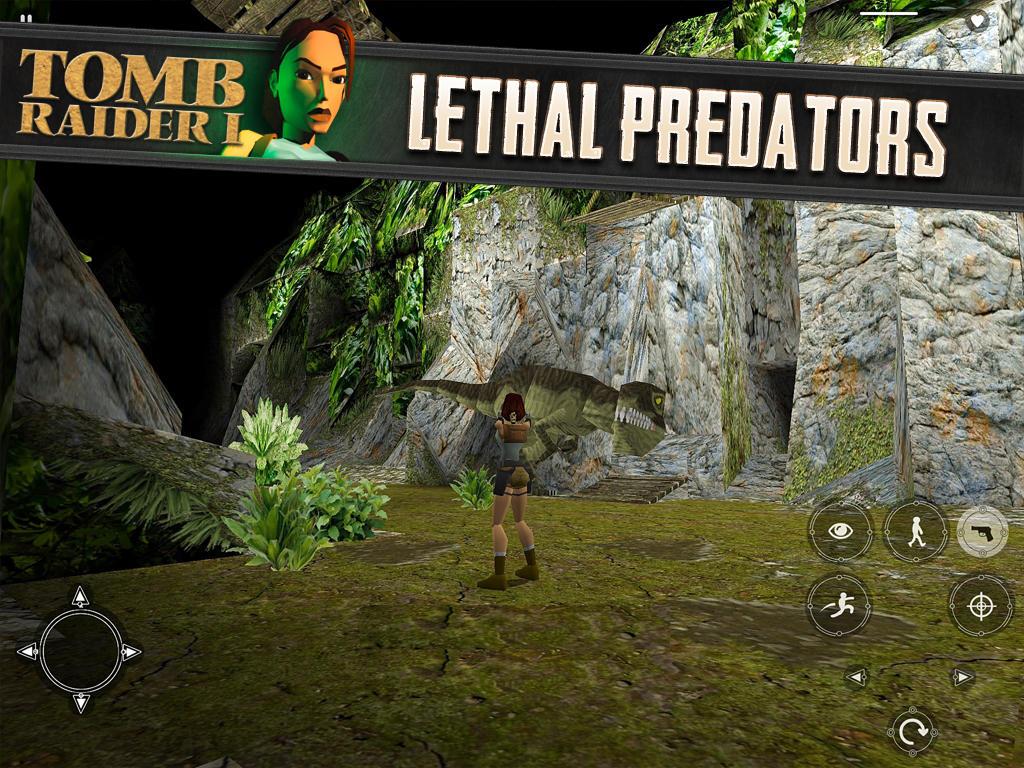 Jogo Tomb Raider I para iOS