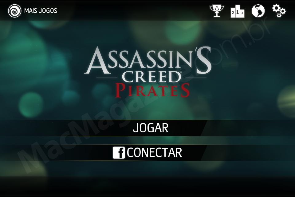 Jogo Assassin's Creed Pirates para iOS