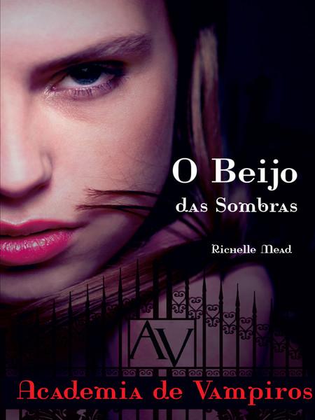 """Capa do livro """"O Beijo das Sombras"""""""