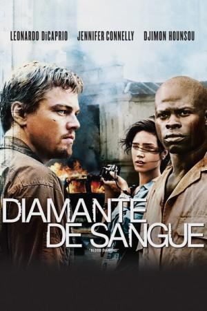 """Cartaz do filme """"Diamante de Sangue"""""""
