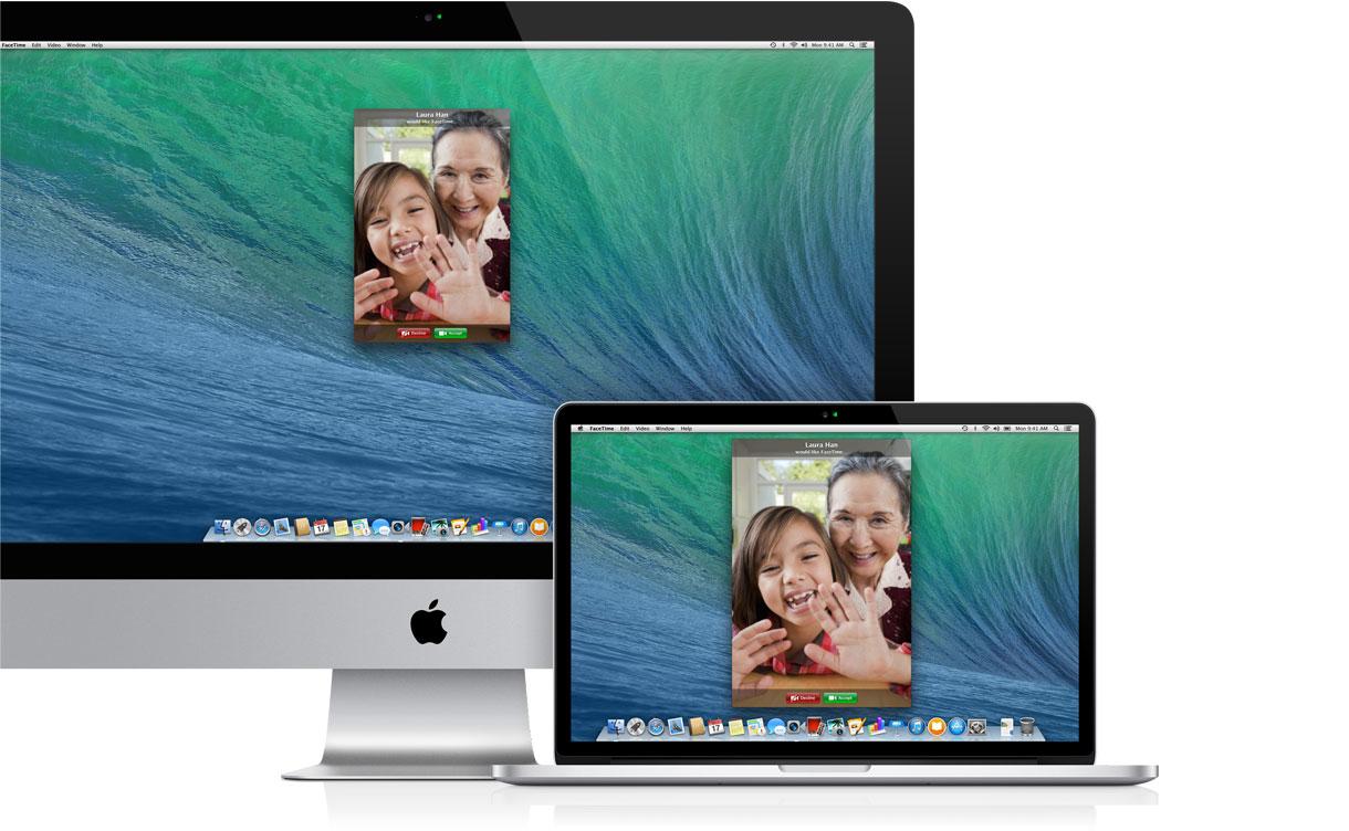 Câmera FaceTime de Macs