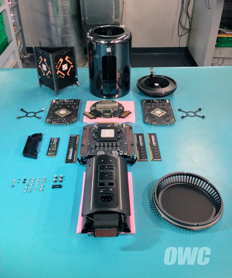 Desmontagem do novo Mac Pro