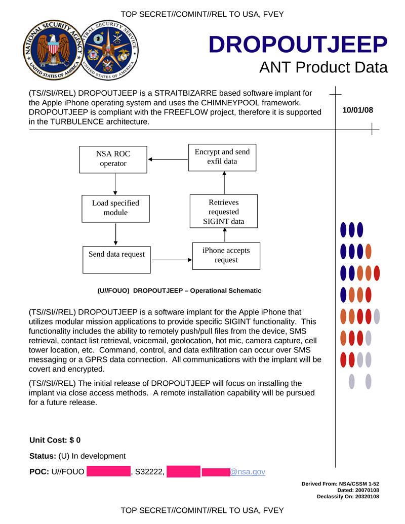 DROPOUTJEEP, da NSA