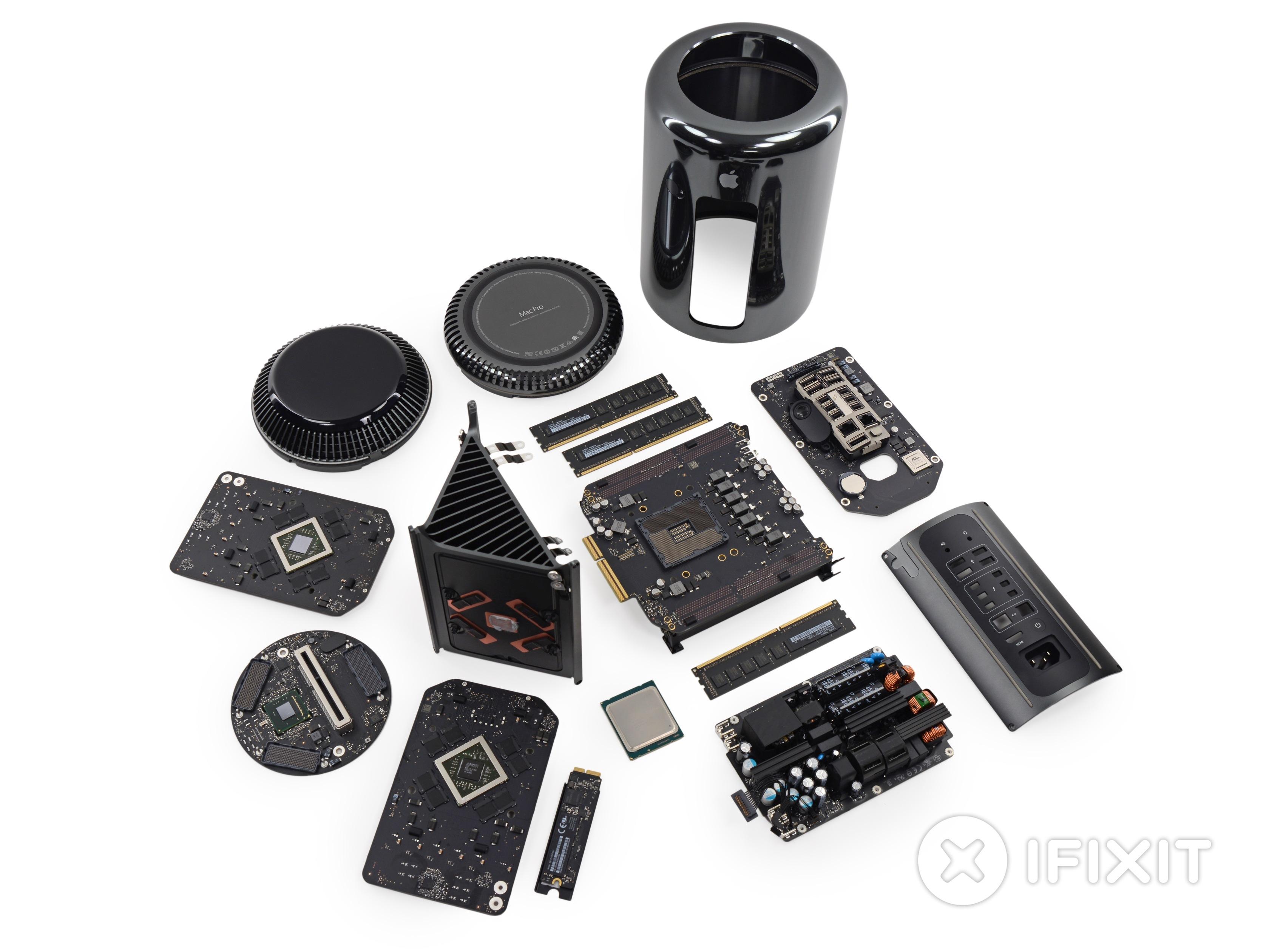 Mac Pro desmontado pela iFixit