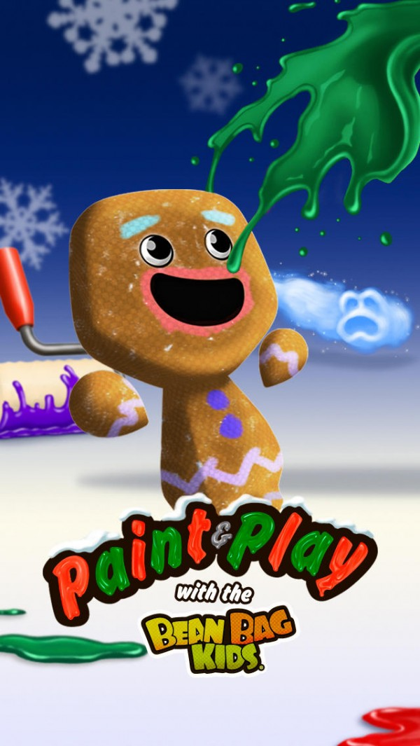 Pinta e Brinca com o Bean Bag Kids