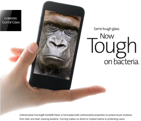 Gorila Glass Antimicrobial