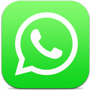 Ícone do app WhatsApp Messenger para iPhones