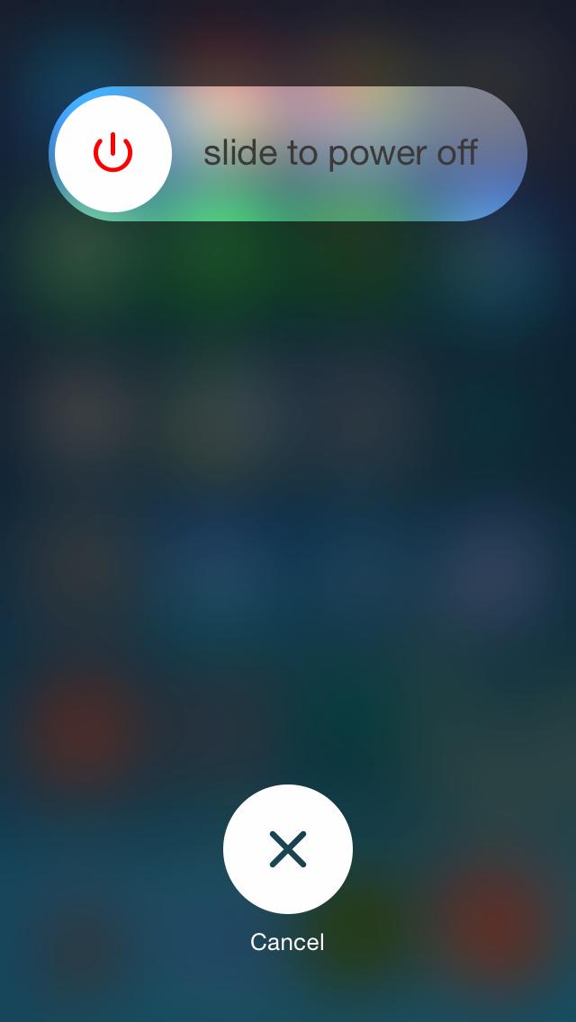 Screenshot do iOS 7.1 beta 3