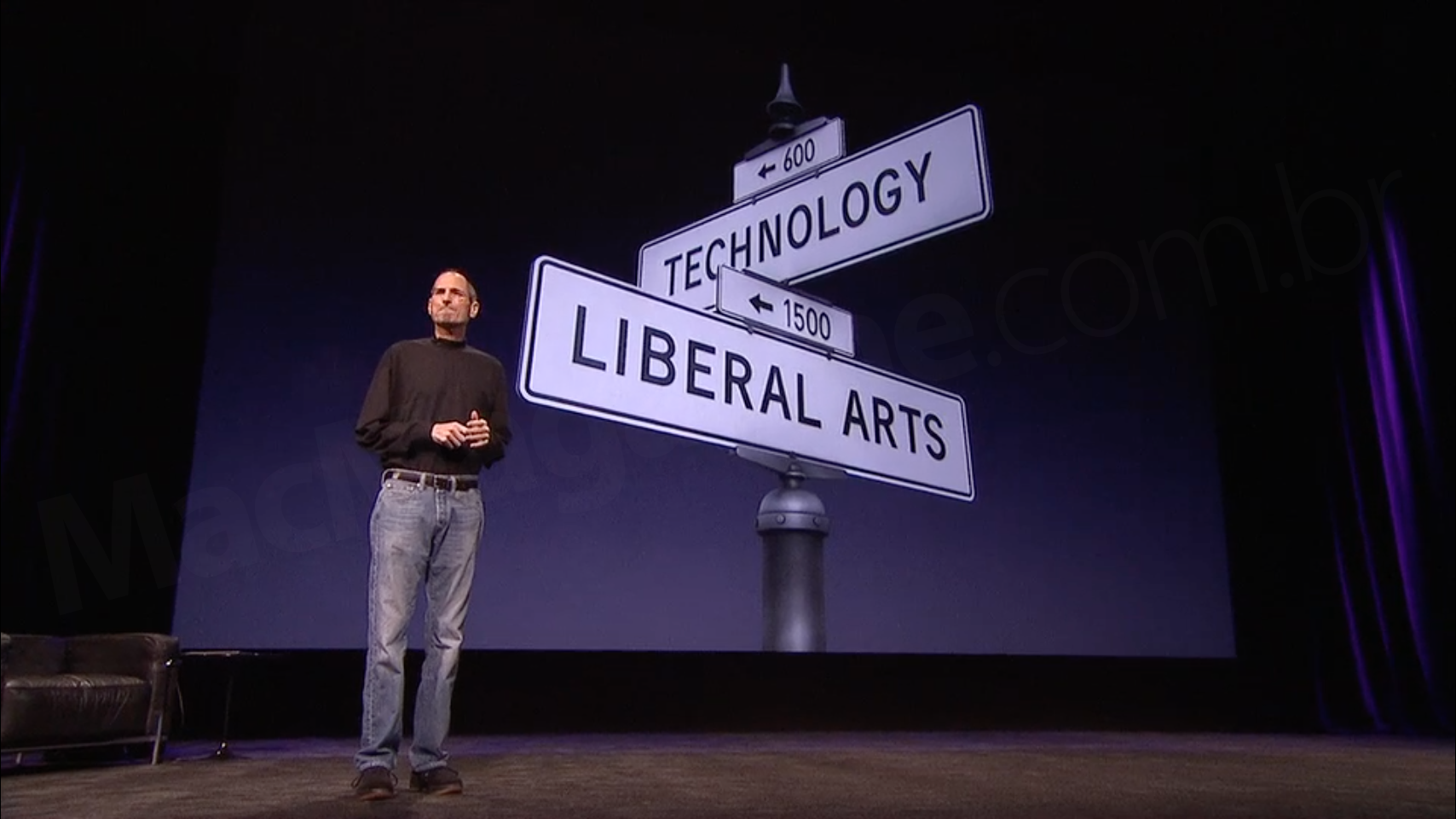 Keynote do iPad 2 (Tecnologia & Humanidade)