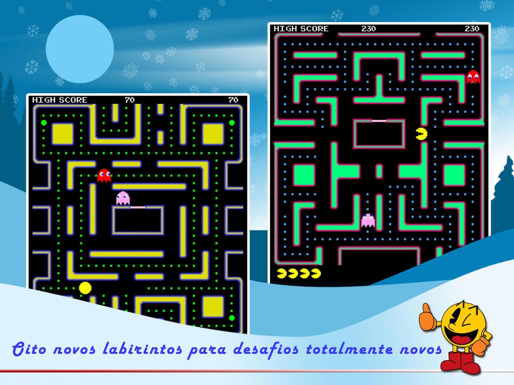 Jogo PAC-MAN para iOS
