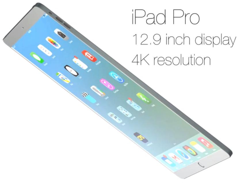 """Conceito de """"iPad Pro"""", por SET Solution"""