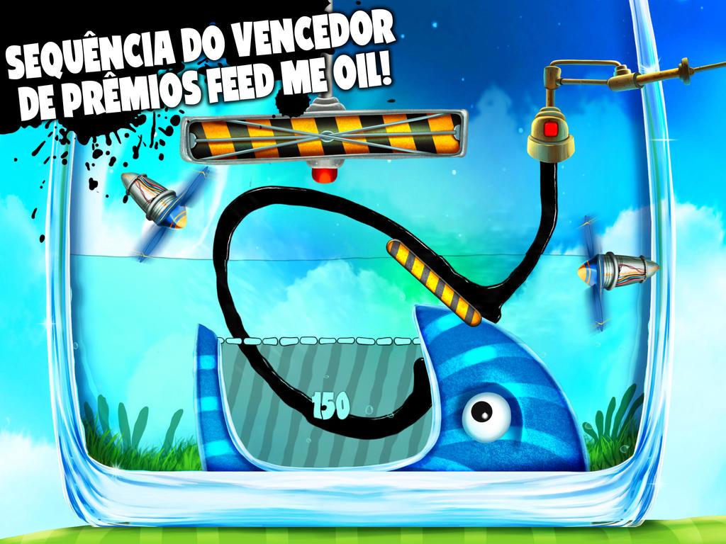 Jogo Feed Me Oil 2 para iOS