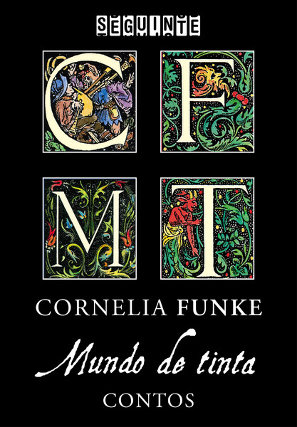 """Capa do livro """"Mundo de Tinta"""""""