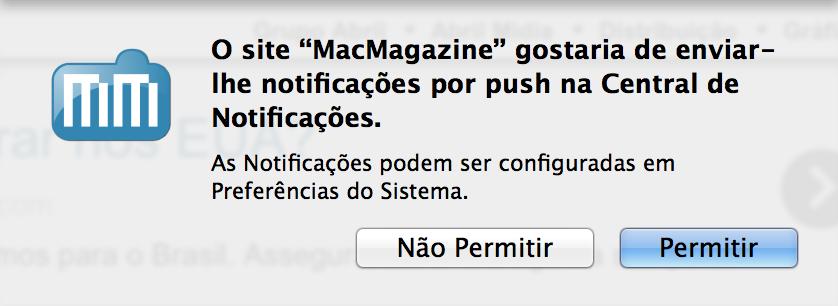 Notificações instantâneas do MacMagazine