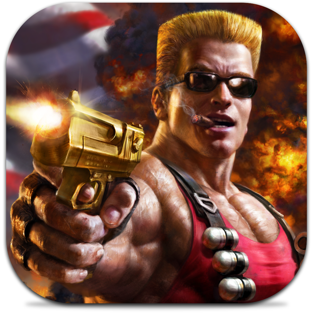Ícone do jogo Duke Nukem Manhattan Project para iOS