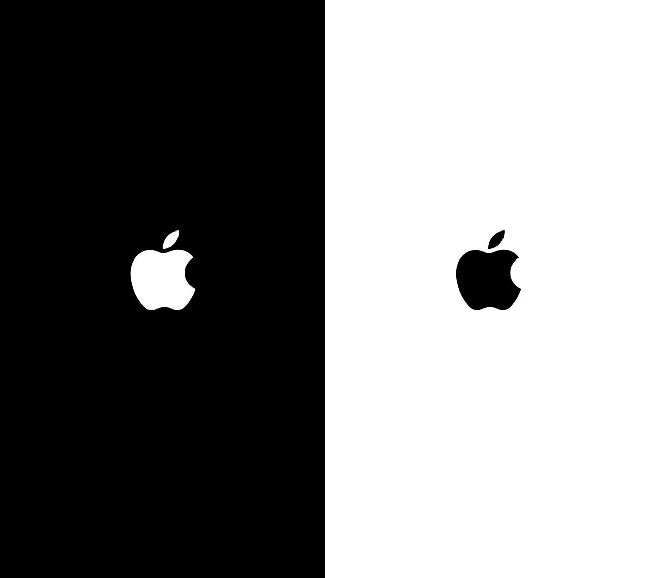 Tela de boot/inicialização do iOS 7