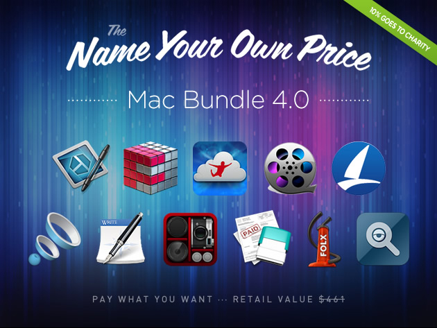 The Name Your Own Price Mac Bundle 4.0