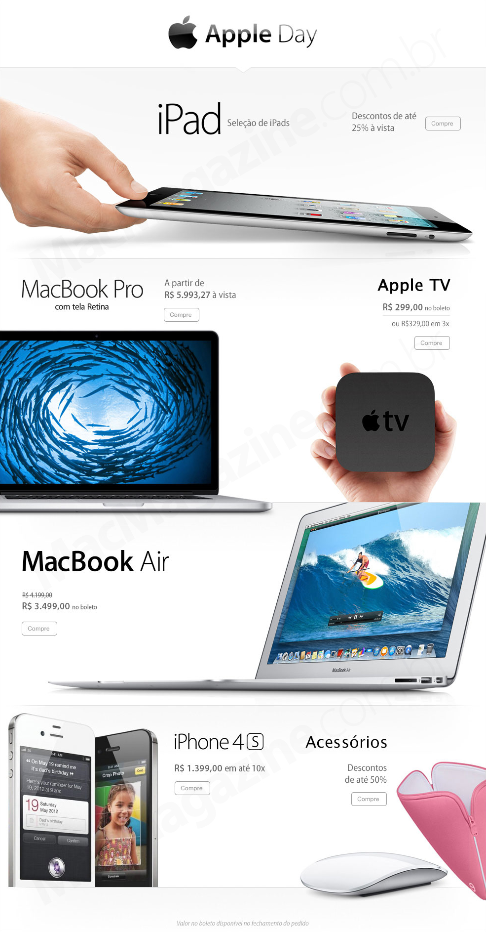 """""""Apple Day"""" na Fast Shop"""