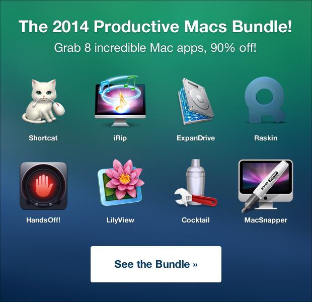 2014 Productive Macs Bundle