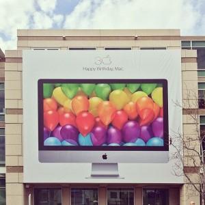 Festa dos 30 anos do Mac em Cupertino