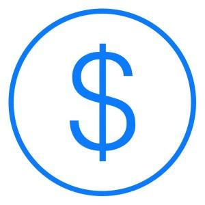 Ícone de um cifrão (dinheiro)