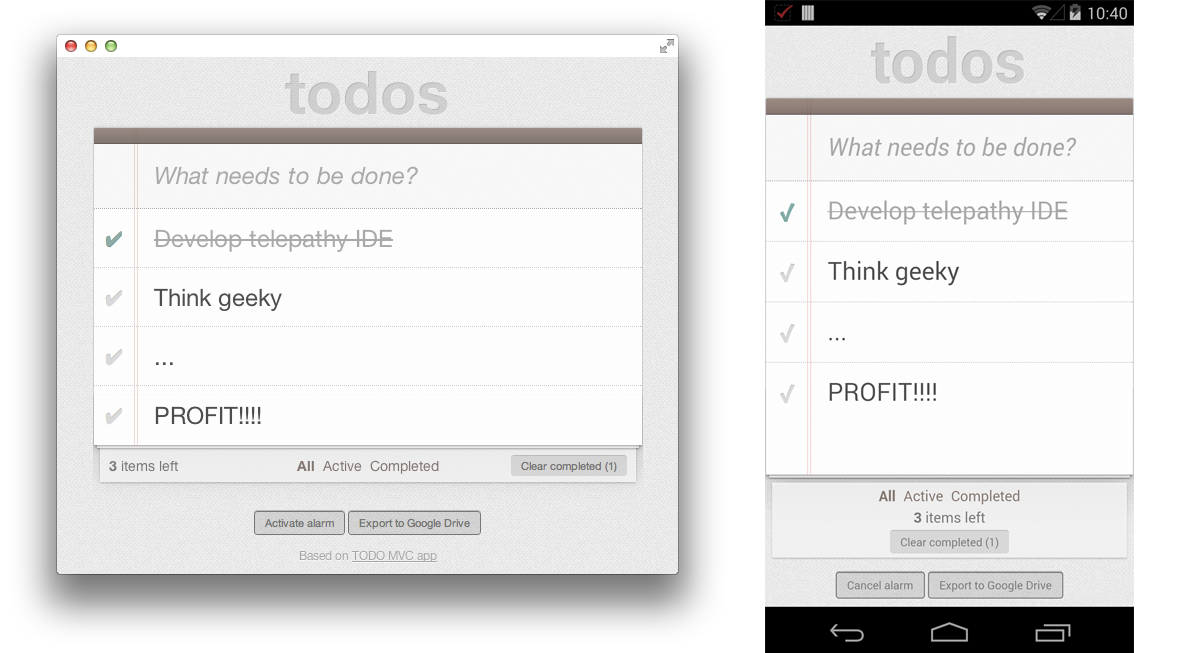 Chrome Apps para mobile