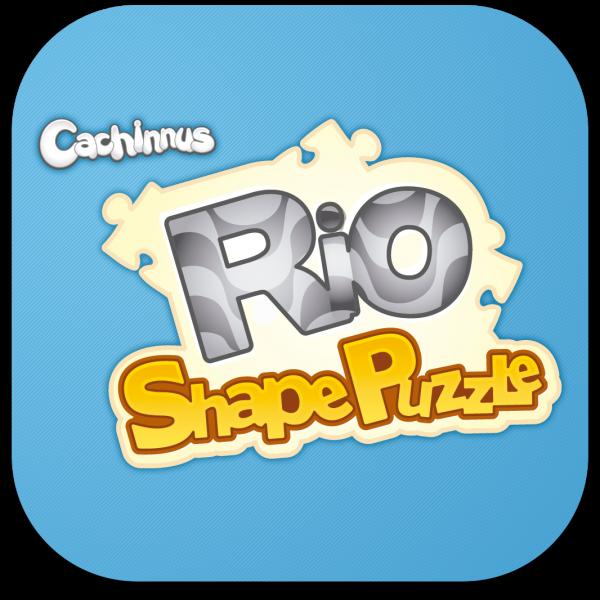 Ícone do jogo Rio Shape Puzzle para iOS