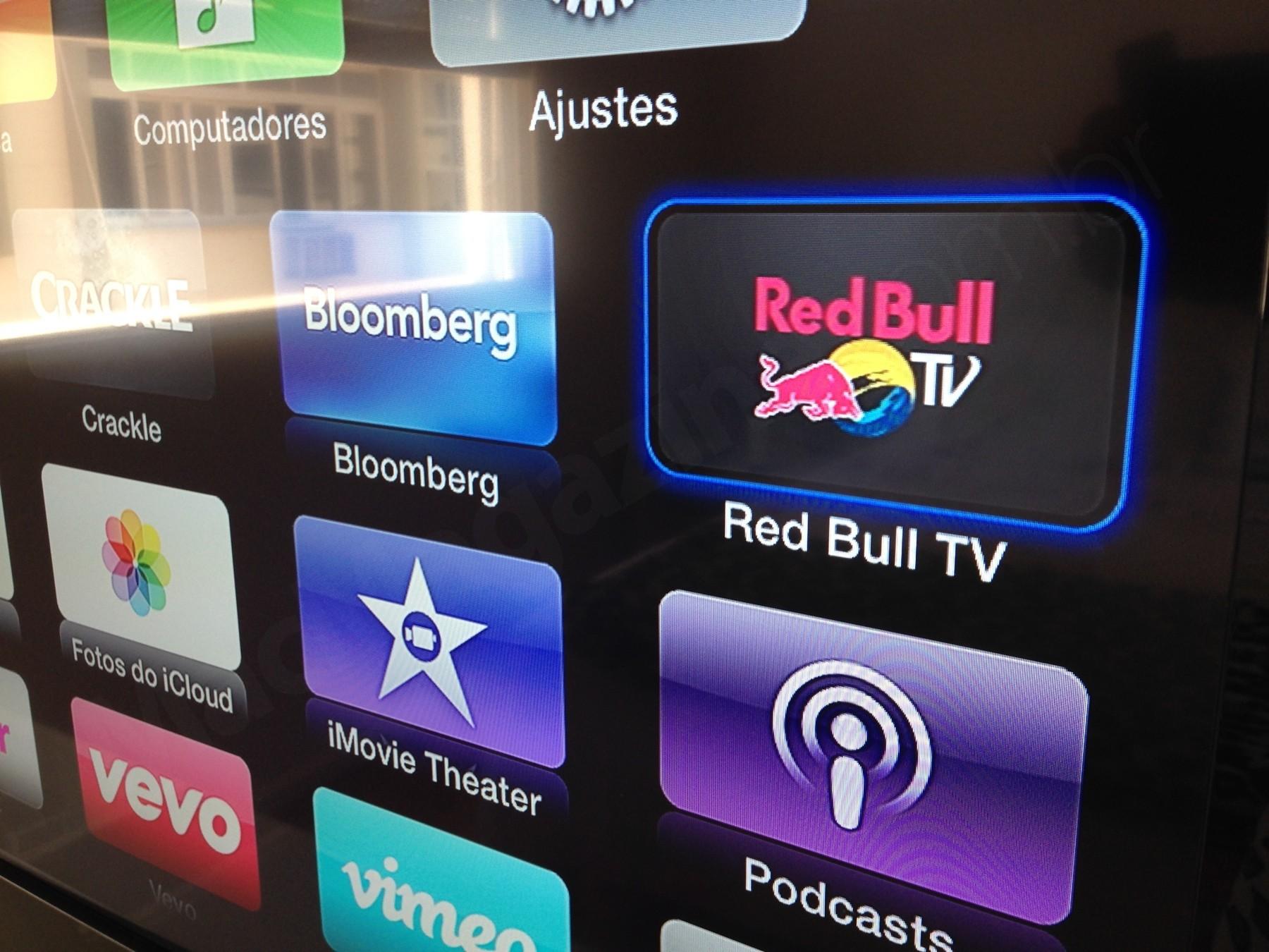 Red Bull TV em Apple TVs
