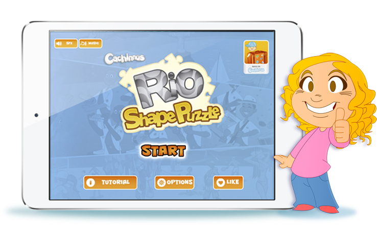 Jogo Rio Shape Puzzle para iOS