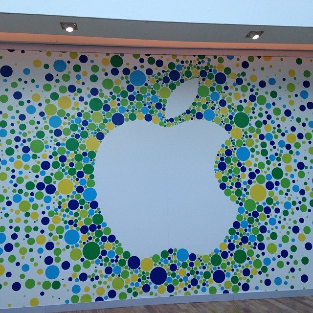 Foto da fachada da Apple Store - VillageMall