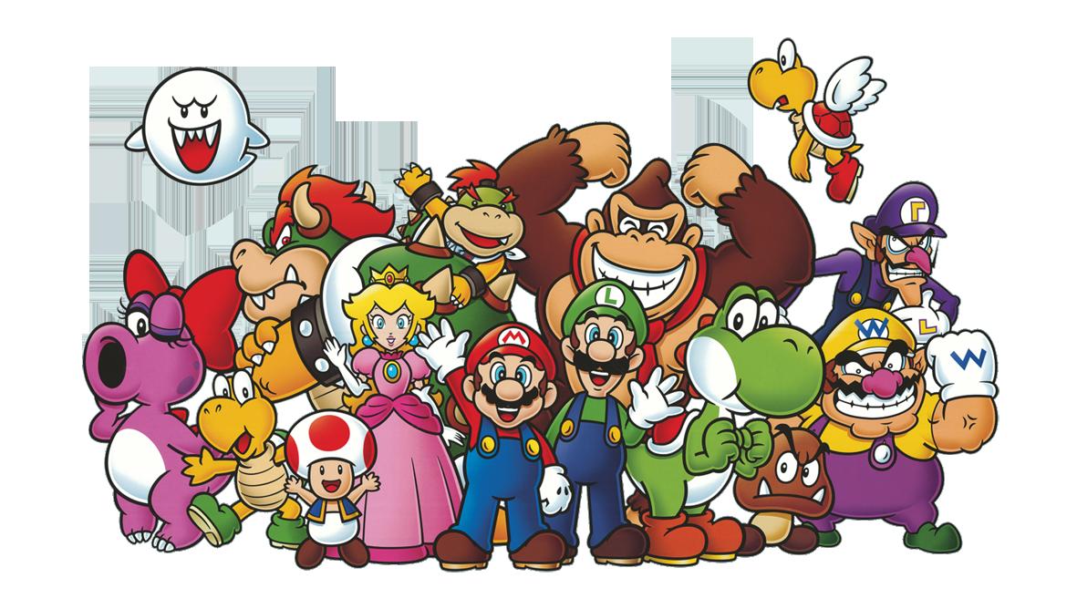 Personagens famosos da Nintendo