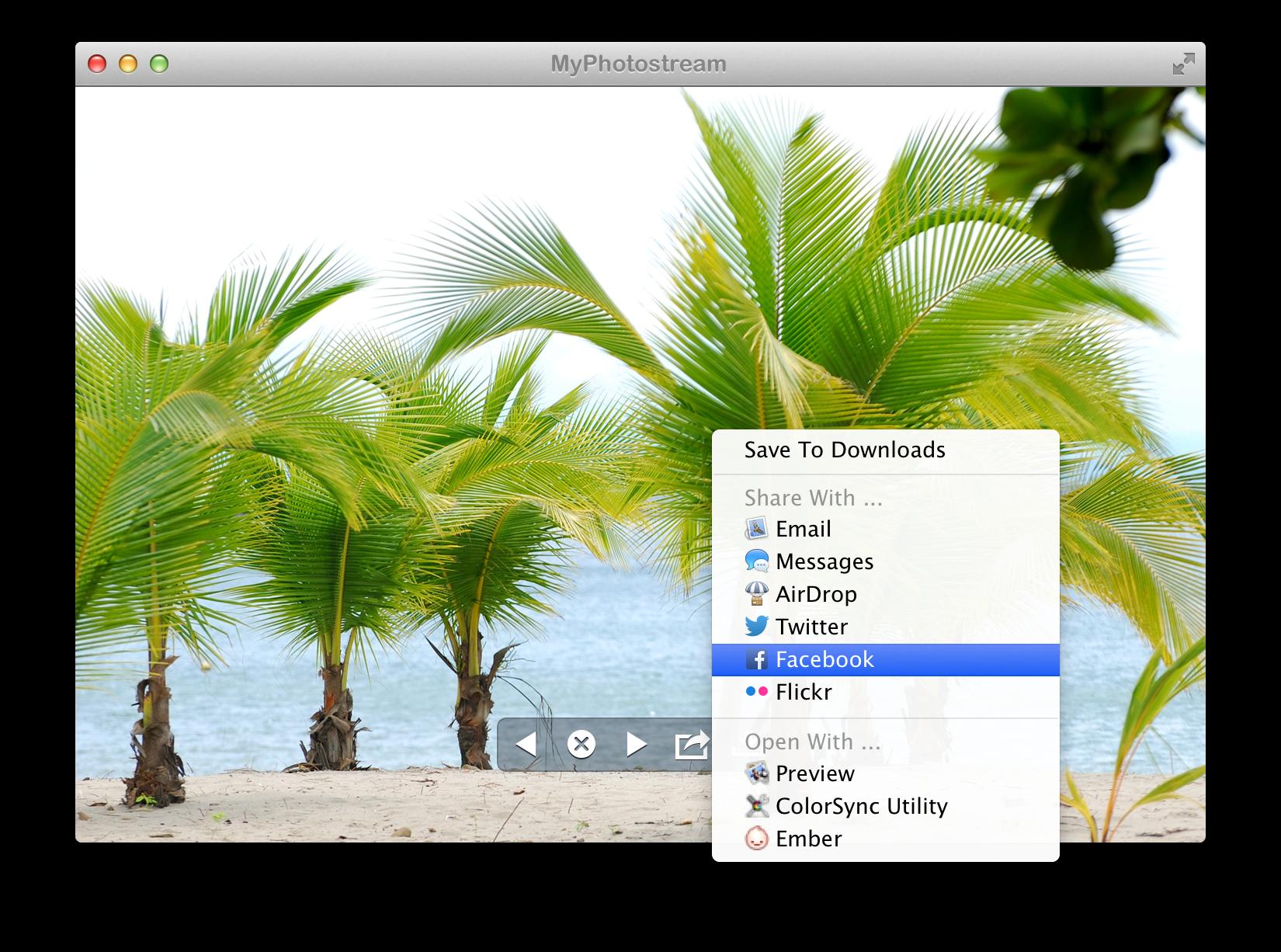 MyPhotostream para Mac
