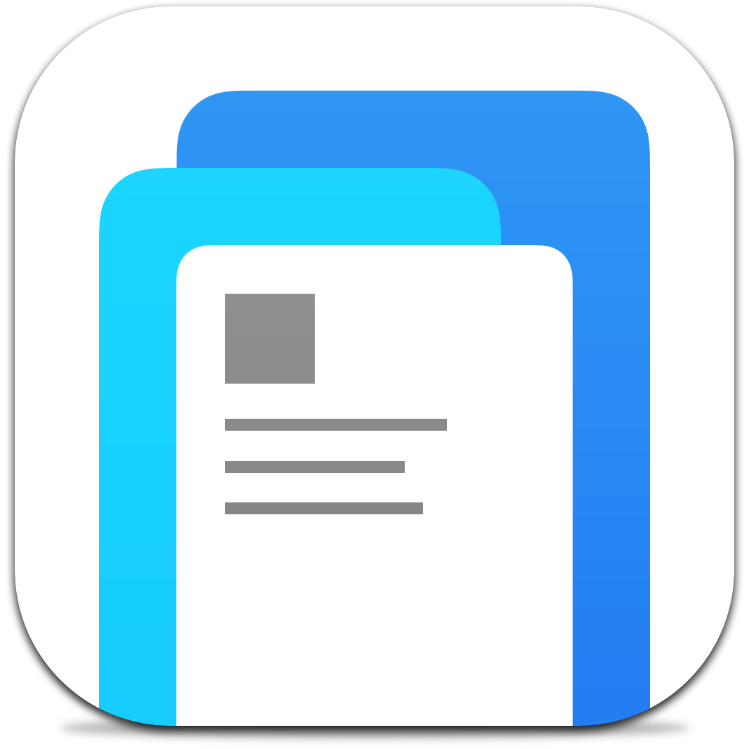 Ícone do app Paper para iPhones/iPods touch