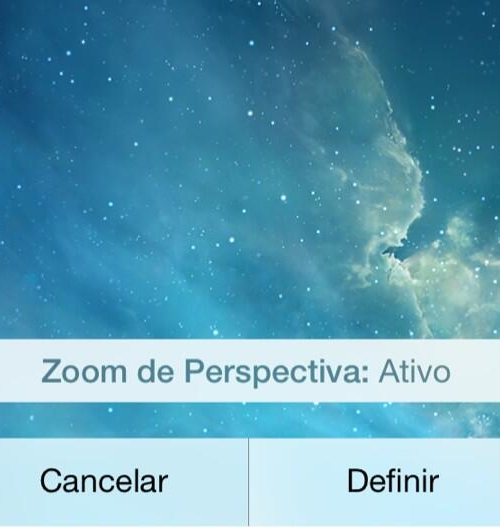 Zoom de Perspectiva - iOS 7.1 beta 5