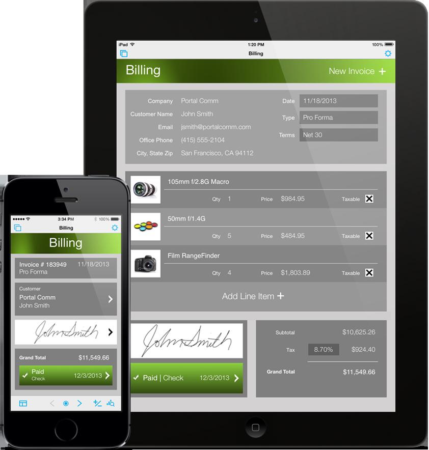 App FileMaker Go 13 para iOS