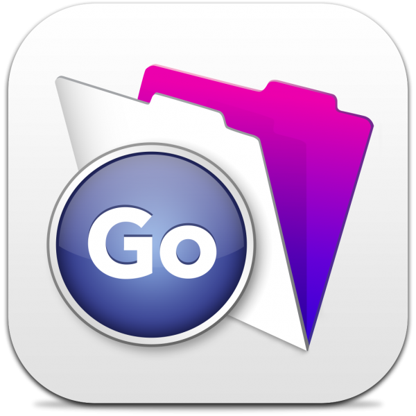 Ícone do app FileMaker Go 13 para iOS