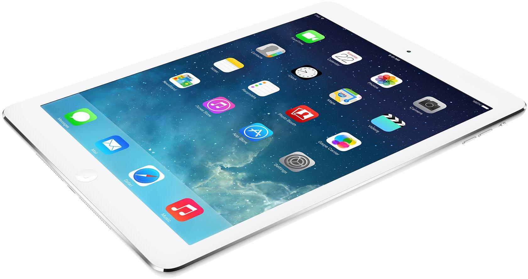iPad Air deitado