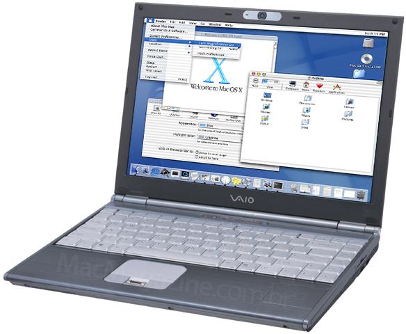 Sony VAIO rodando o Mac OS