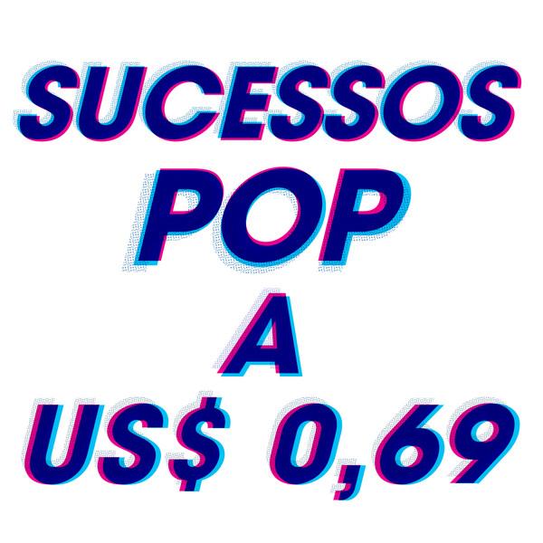 """Capa do álbum """"Sucessos pop a US$0,69"""""""