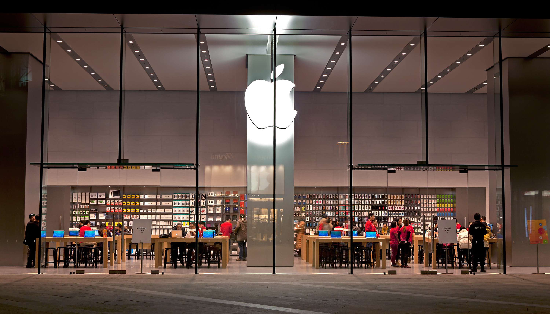 Apple Store em Pequim (na China)