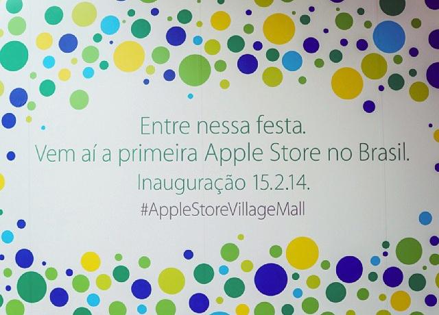 Inauguração da Apple Store - VillageMall