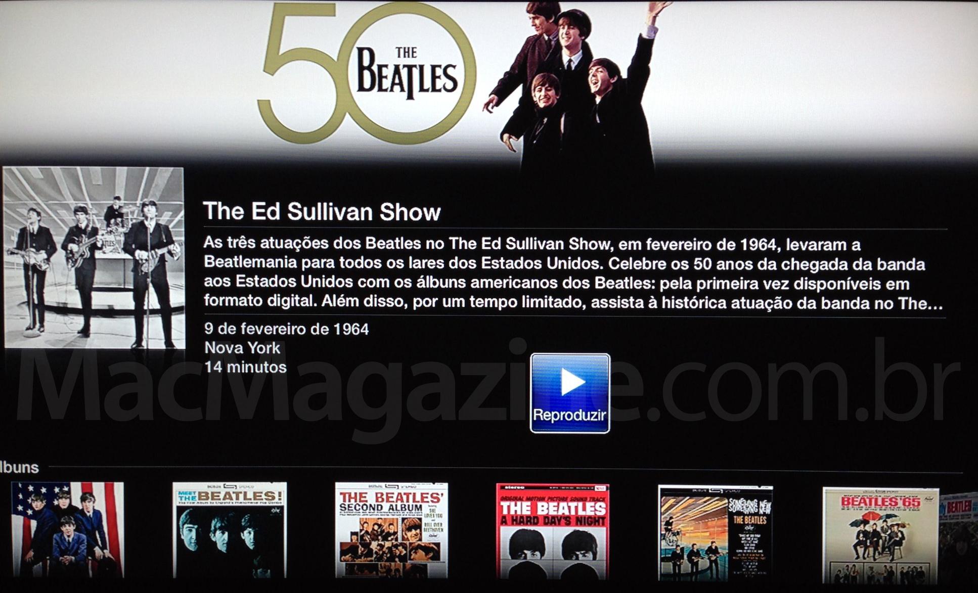 The Beatles na Apple TV