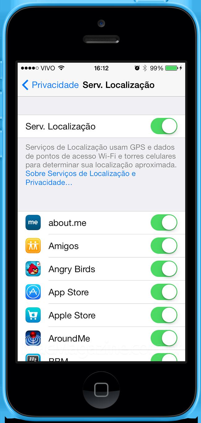 Geolocalização no iOS 7