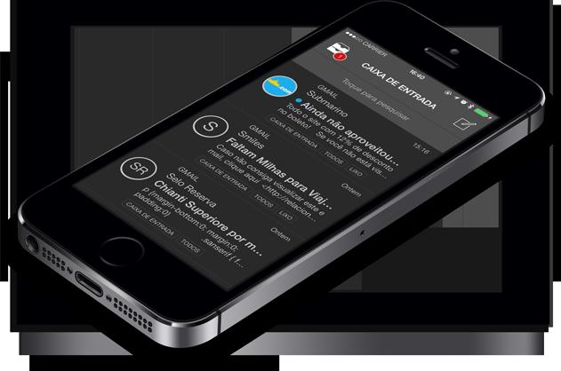 Booxmail em iPhone