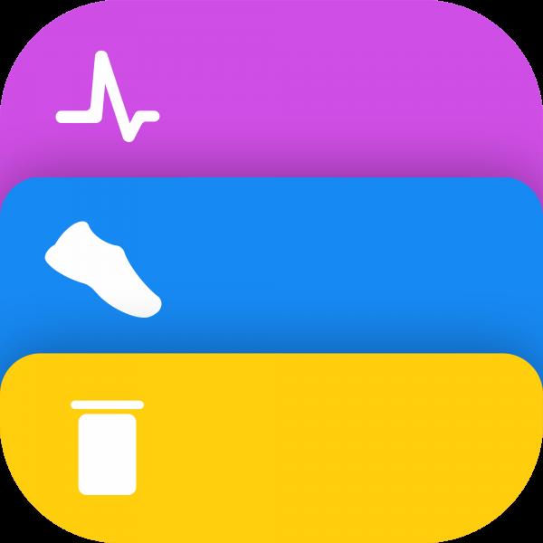 Mockup do app Healthbook