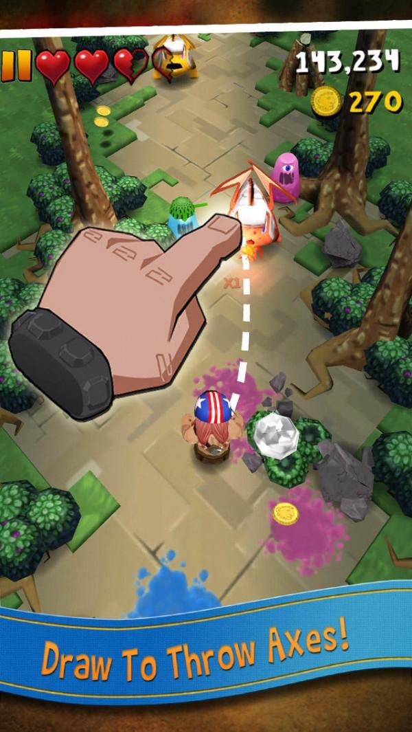 Jogo Max Axe para iOS